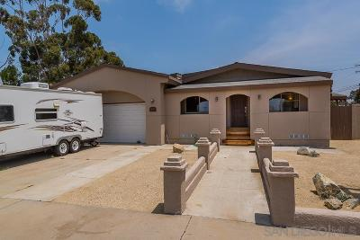 Chula Vista Single Family Home For Sale: 857 Second Ave