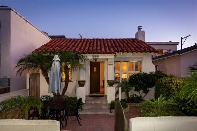 San Diego Single Family Home For Sale: 833 Island Court