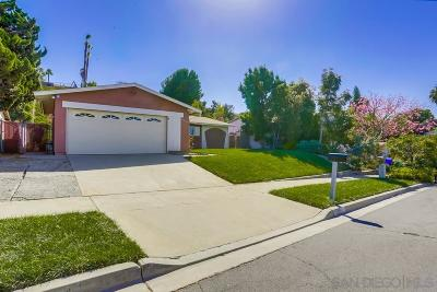 Oceanside Single Family Home For Sale: 4009 Mira Costa St