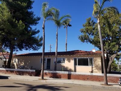 San Diego Single Family Home For Sale: 5150 Marlborough Dr.