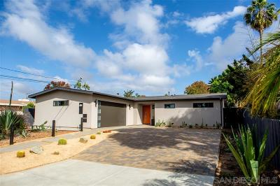 Encinitas CA Single Family Home For Sale: $1,195,000