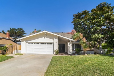 San Marcos Single Family Home For Sale: 1509 Via Dorado