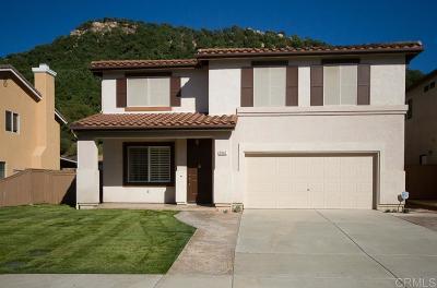 Fallbrook Single Family Home For Sale: 5042 Lake Circle Rd