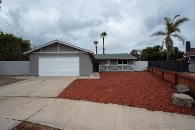 Oceanside Single Family Home For Sale: 552 Luna Dr
