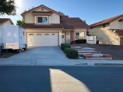 San Diego Single Family Home For Sale: 12982 Isocoma St