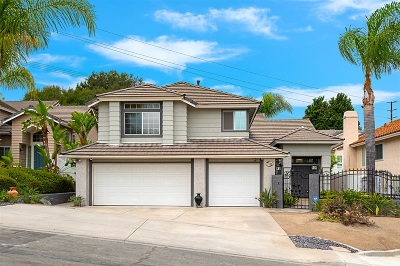 San Diego Single Family Home For Sale: 17095 Carranza Dr