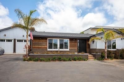Encinitas CA Single Family Home For Sale: $1,695,000
