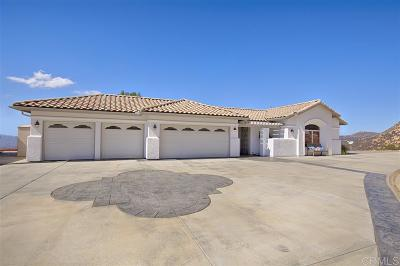 Single Family Home For Sale: 2801 El Camino Verde