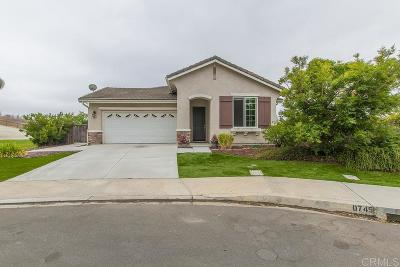 San Marcos Single Family Home For Sale: 1599 Loma Alta