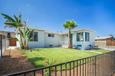San Diego Multi Family 2-4 For Sale: 5075-5077 Monroe Ave