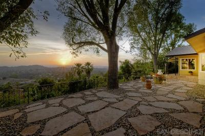 Poway Single Family Home For Sale: 14604 High Valley Rd