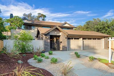 Single Family Home For Sale: 740 S Nardo Ave.