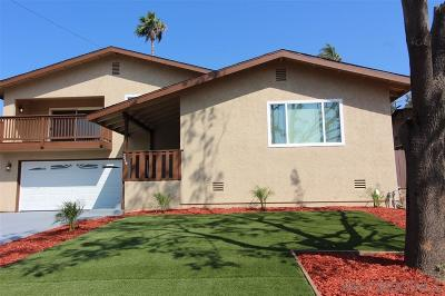 Escondido Single Family Home For Sale: 2446 Cranston Dr