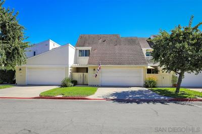 San Diego Townhouse For Sale: 2325 Caminito Andada