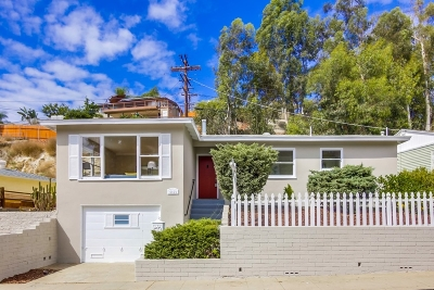 San Diego Single Family Home For Sale: 4460 Revillo