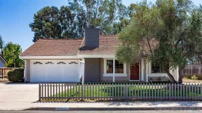Poway Single Family Home For Sale: 13133 Wanesta Dr