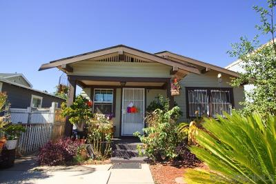 San Diego Multi Family 2-4 For Sale: 3614 Highland Ave