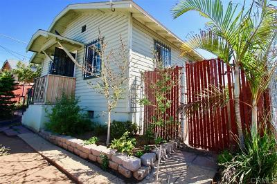 San Diego Single Family Home For Sale: 1043 Sampson Street