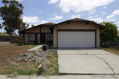 San Diego Single Family Home Sold: 1265 Agapanthus Dr