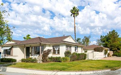 San Diego Single Family Home For Sale: 5078 Chaucer Ave