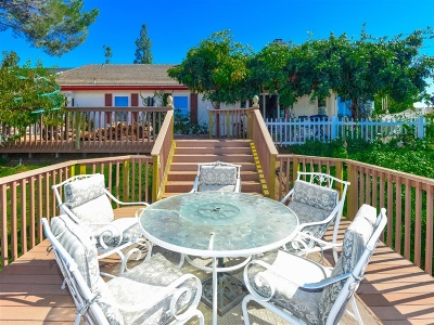 San Diego County Single Family Home For Sale: 16416 Wikiup Rd