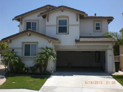 Chula Vista Single Family Home For Sale: 2833 Red Rock Canyon Rd.