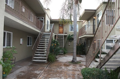San Diego County Attached For Sale: 3846 38th Street #5