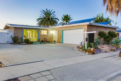 San Diego County Single Family Home For Sale: 3026 Admiral Ave.