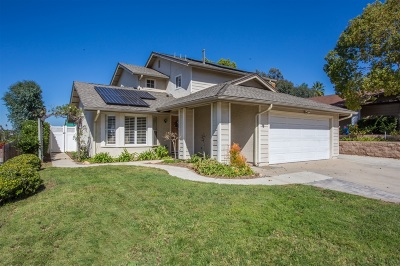 San Diego County Single Family Home For Sale: 262 Pippin Dr