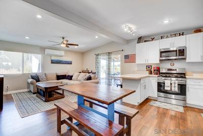 Chula Vista Single Family Home For Sale: 1031 Hilltop Drive