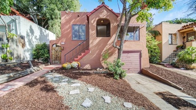 San Diego Single Family Home For Sale: 3617 Union St