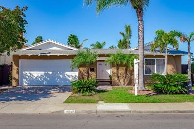 San Diego CA Single Family Home For Sale: $720,000