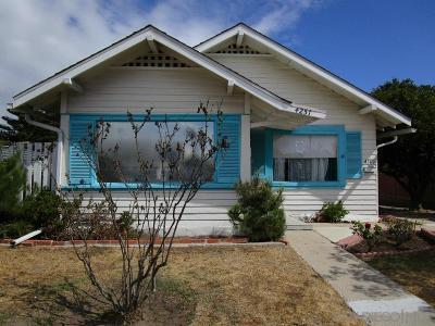 San Diego Multi Family 2-4 For Sale: 4249/4251 41st Street