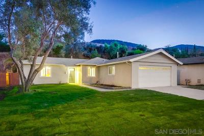 Santee Single Family Home For Sale: 8057 Poplin Dr