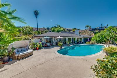 Single Family Home For Sale: 1520 Avenida Ladera