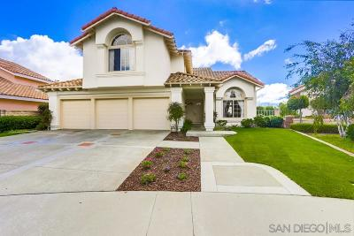 San Diego Single Family Home For Sale: 8787 Calle Tragar