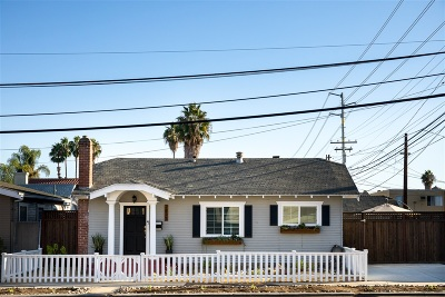 San Diego Single Family Home For Sale: 2877 Madison Ave