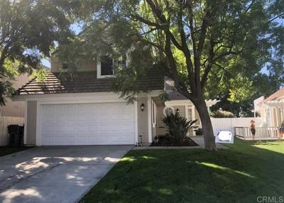 Murrieta CA Single Family Home For Sale: $369,500