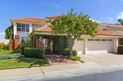 La Jolla Single Family Home For Sale: 6477 Caminito Baltusral