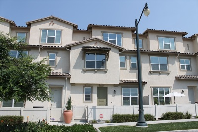 Chula Vista Townhouse For Sale: 1325 Santa Diana Rd. #5