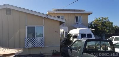 Chula Vista Single Family Home For Sale: 342 Topaz Ct