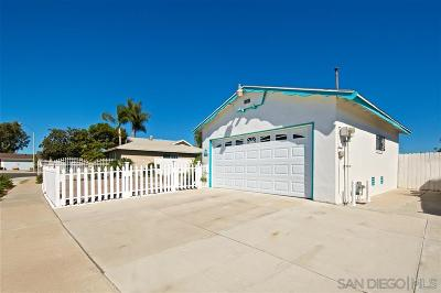San Diego CA Single Family Home For Sale: $429,000