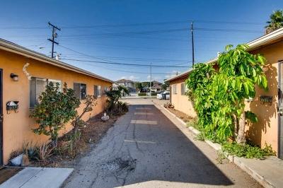 Chula Vista Multi Family 5+ For Sale: 548 Flower St