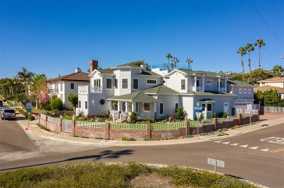 La Jolla Single Family Home For Sale: 5303 Chelsea