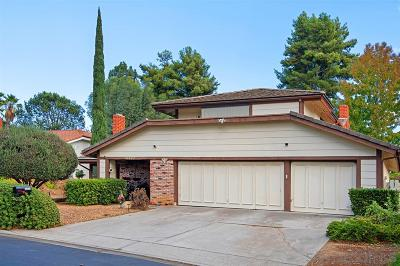 Poway Single Family Home For Sale: 13337 Tining Dr