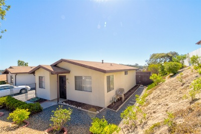 Oceanside Attached For Sale: 3737 Gail Drive
