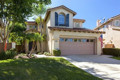 San Diego Single Family Home For Sale: 11786 Fantasia Ct