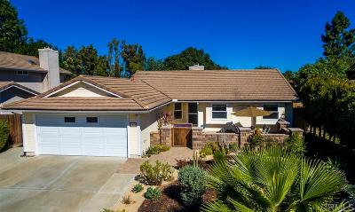 Oceanside Single Family Home For Sale: 1410 Henshaw Rd