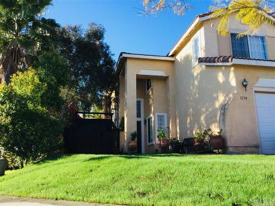 Single Family Home For Sale: 1174 Plaza Miraleste