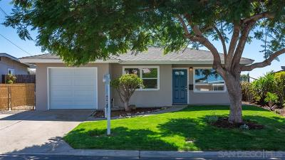 Single Family Home For Sale: 5957 Michael